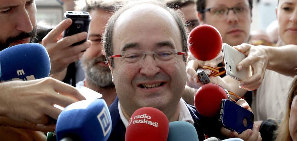 Iceta invita a los moderados que «sobran» en el PDeCAT a sumarse al PSC