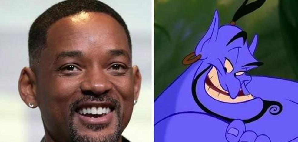 Will Smith será el Genio en la nueva versión de 'Aladdin'