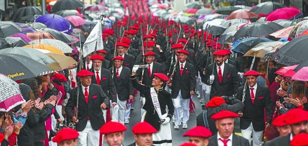 El Alarde tradicional destaca «la altísima participación» en todos sus actos