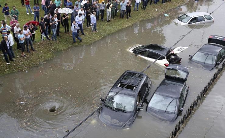 Inundaciones en Estambul