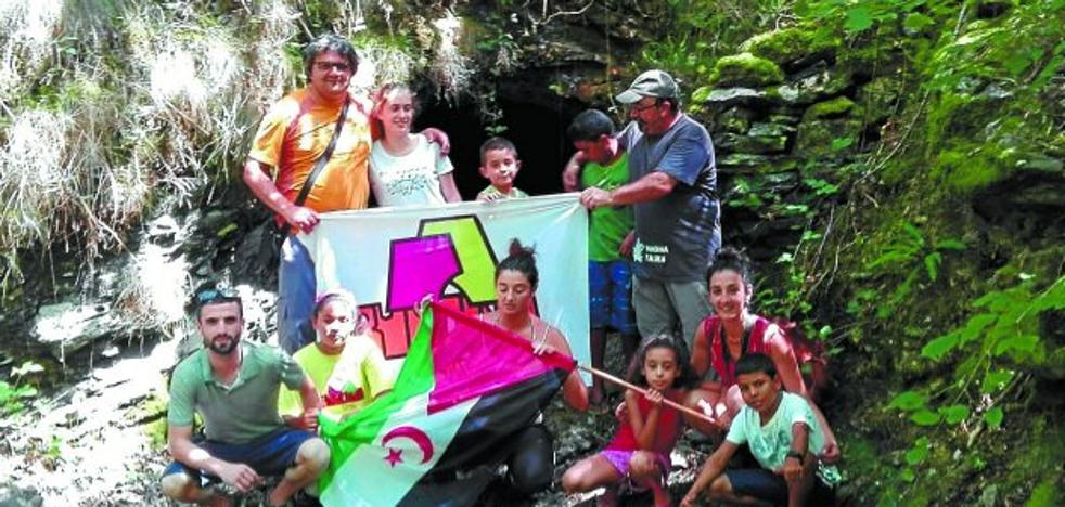 El coto de Txotan fue una fuente de diversión para los niños saharauis