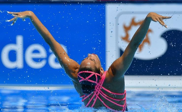 Ona Carbonell, plata en el solo libre del Mundial