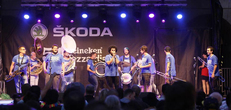 Broken Brothers Brass Band llevará el jazz por las calles del corazón de Donostia