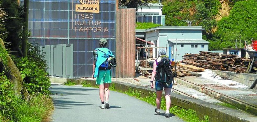 La regeneración de la bahía de Pasaia llegará hasta el paseo de Ondartxo tras el verano