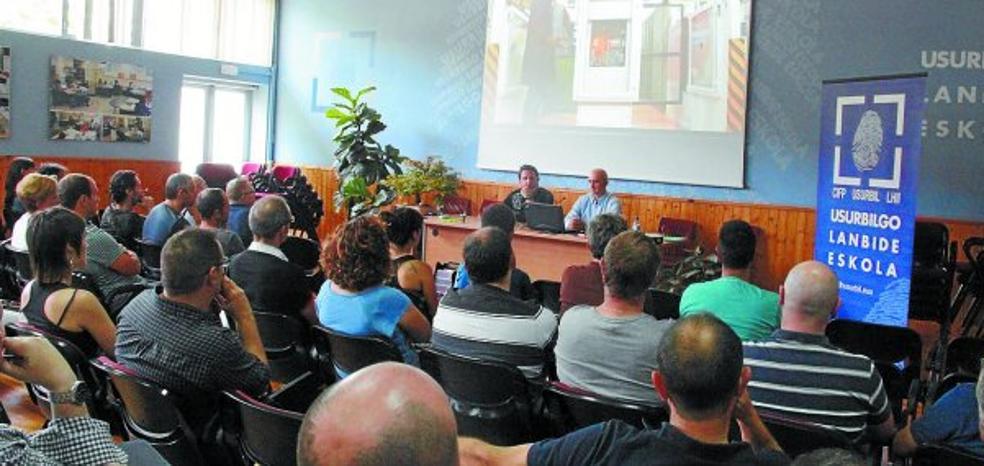 Usurbilgo Lanbide Eskola cuenta con un 'Almacén Inteligente' en Mecánica