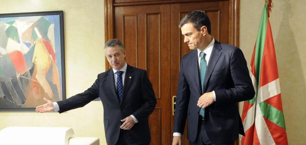 Urkullu y Sánchez coinciden en impulsar una «una reflexión sobre el modelo de Estado»