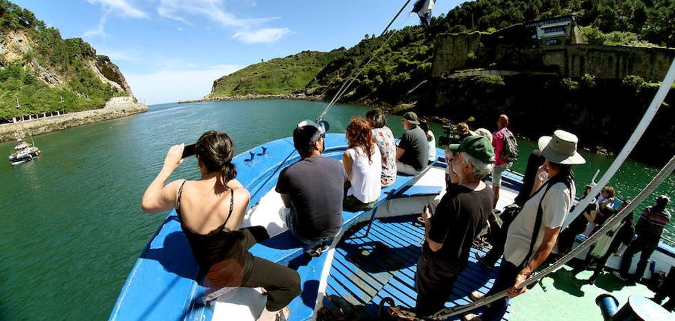 El turismo creció un 3,5 % en junio en Gipuzkoa