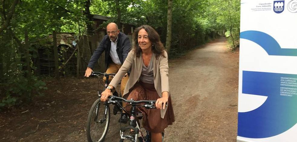 Gipuzkoa tendrá nuevas vías para ciclistas en Eskoriatza, Lazkao y Anoeta