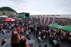 Jazzaldia: 58.000 espectadores en el primer día de conciertos en la playa