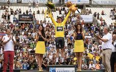 Mikel Landa se queda a un segundo del podio