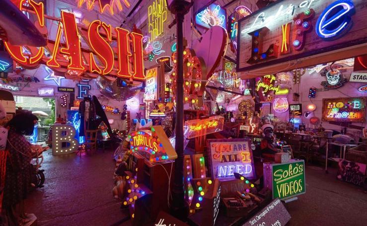Galería de neones en Londres