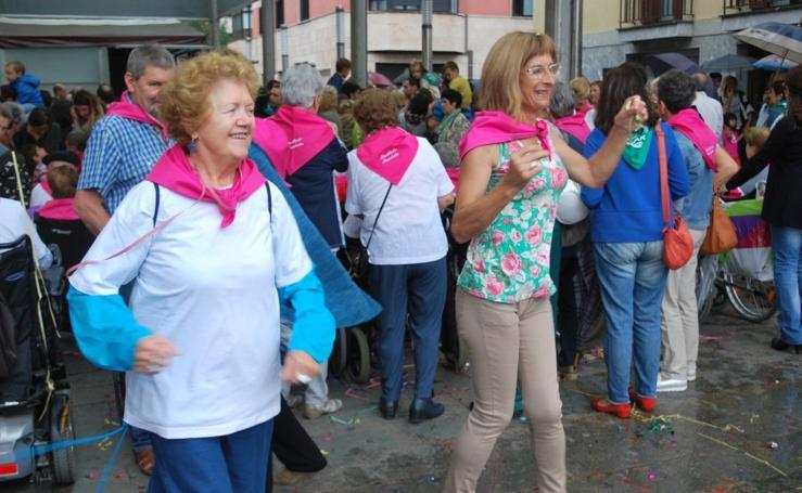 Unas fiestas muy coloridas en Villabona