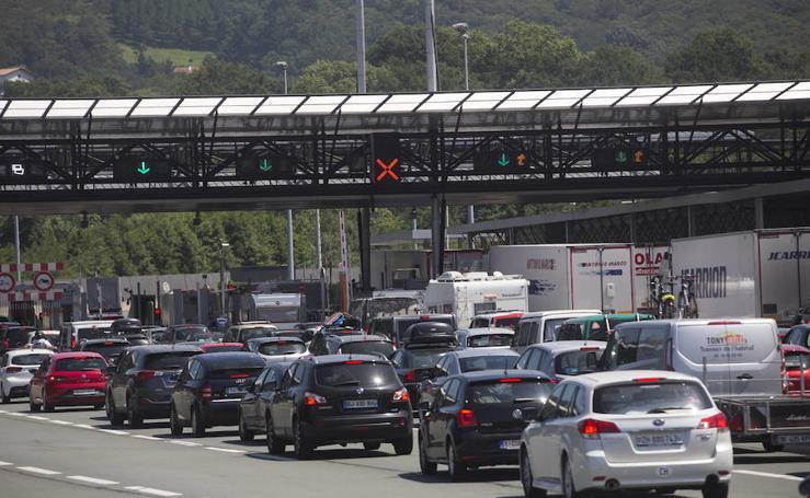 El tráfico retoma la fluidez tras una mañana de retenciones en Gipuzkoa
