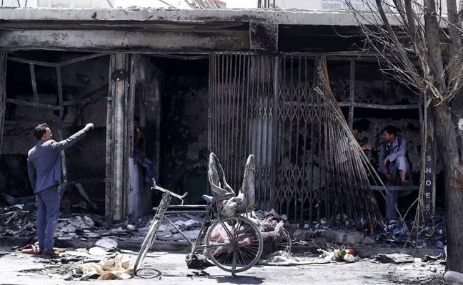 Dos muertos tras un atentado en la embajada iraquí en Kabul