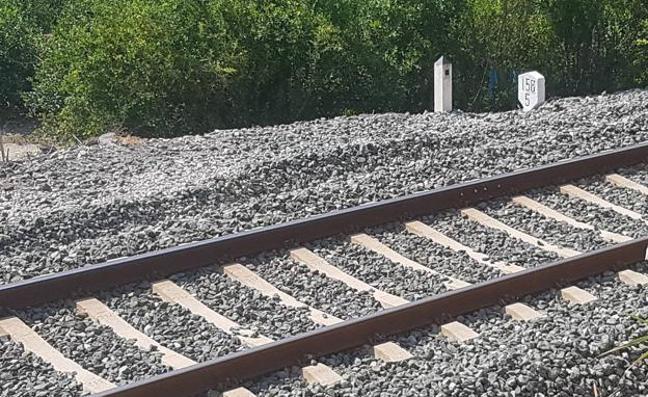 Las cámaras de la estación grabaron a Lucía andando sola por las vías