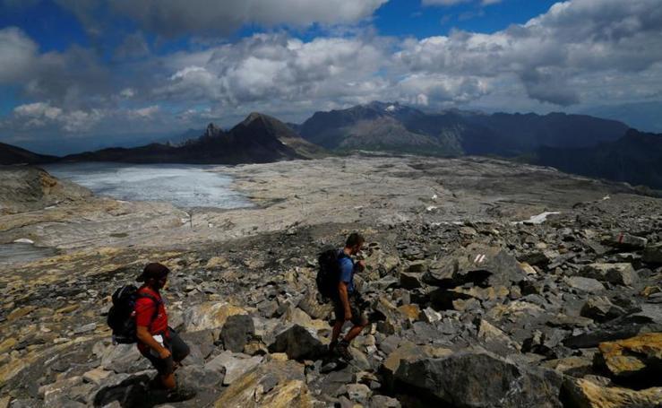 El glaciar suizo que esconde casi 300 cadáveres