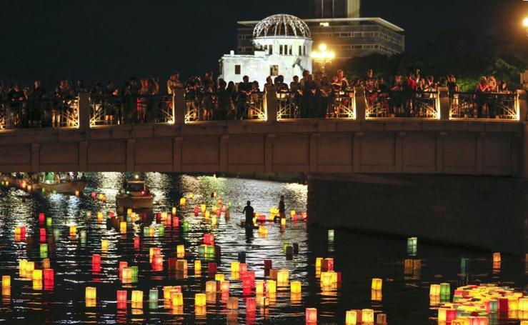 Japón rinde homenaje a las víctimas de Hiroshima