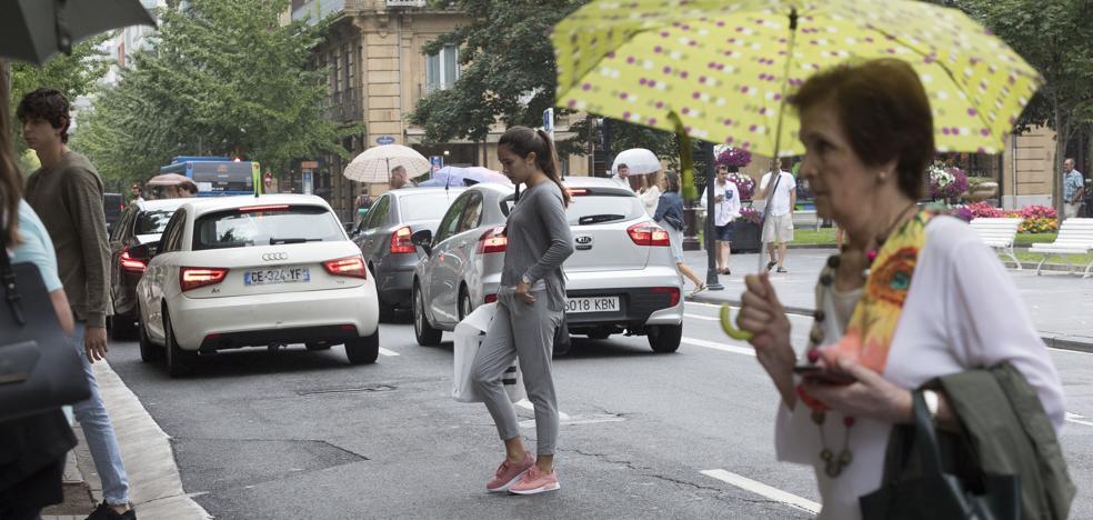 San Martín y avenida de Tolosa, las calles más peligrosas para los peatones
