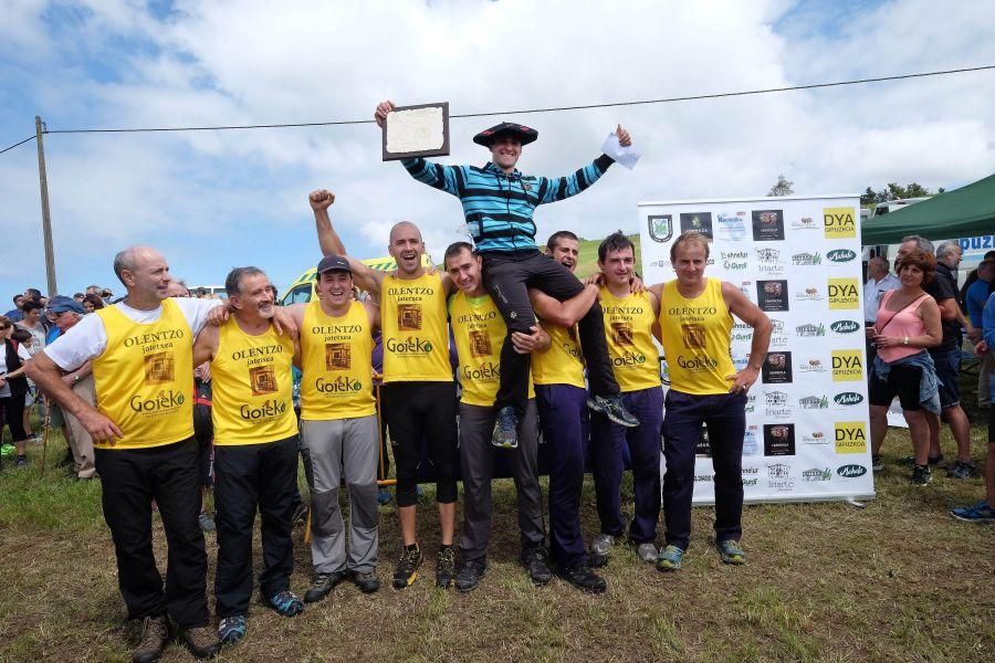 Julen Gabirondo de Urnieta gana el Campeonato de Euskadi de segalaris