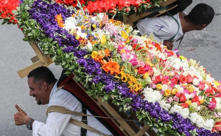 Desfile de Silleteros en Medellín, Colombia
