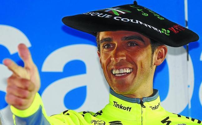 Contador, «el madrileño de Larratxo»