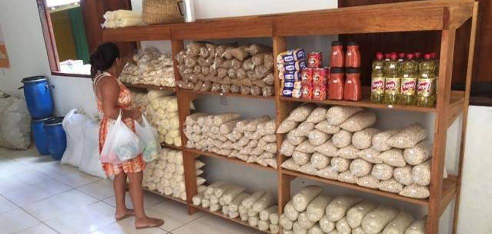 Comida por basura, lanzan la primera tienda sostenible en Brasil