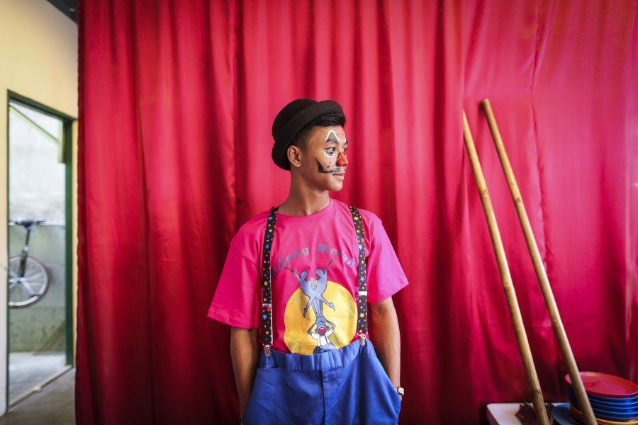 Arte y sonrisas con Fundación Nariz Roja