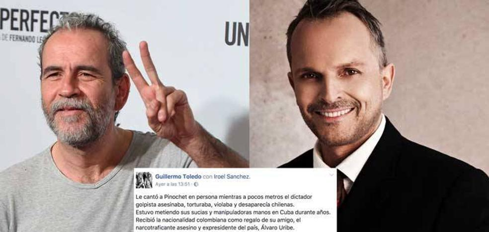 Brutal ataque de Willy Toledo a Miguel Bosé