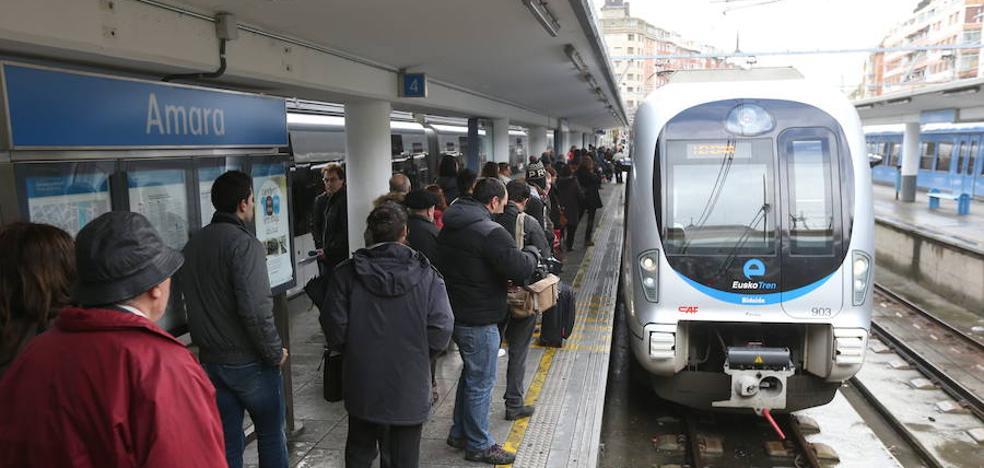 Euskotren reforzará el servicio de trenes en la Aste Nagusia