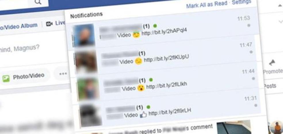 La policía alerta del nuevo virus que se está propagando a través de Facebook