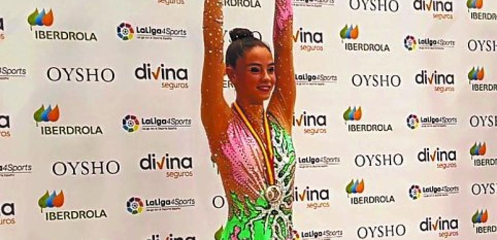 Joane Zugasti, medalla de plata en el Campeonato de España Júnior