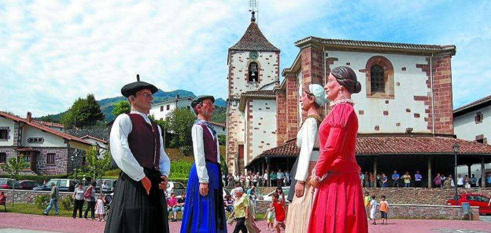 Sunbilla, Ziga y Oronoz celebran estos días sus fiestas patronales