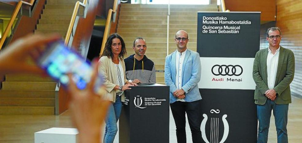'Carmina Burana' viaja a Senpere y Arantzazu con Landarbaso Abesbatza