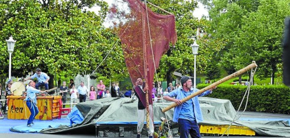 El 'Crusoe' de Markeliñe llegará a Arma plaza