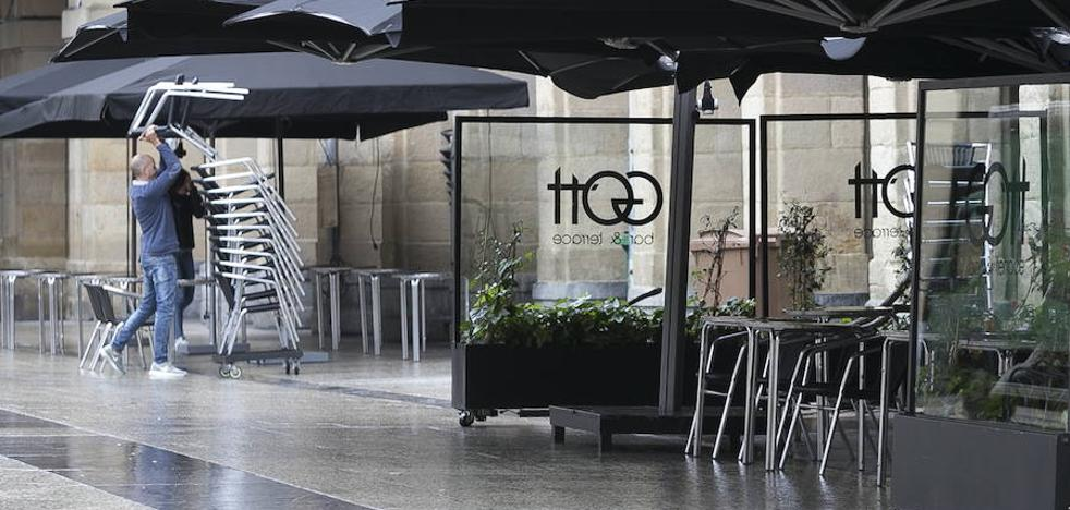 Diferencias en las propuestas para las terrazas hosteleras