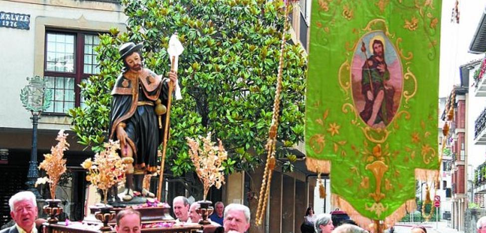 Rosario y Salve el martes 15 en San Martín y misa por San Roque al día siguiente