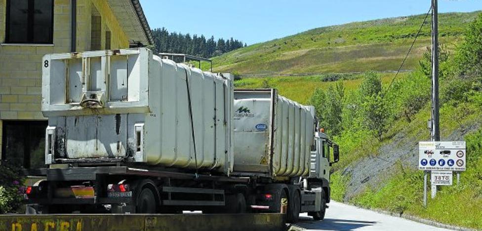 La Diputación busca fuera de Gipuzkoa un destino para 60.000 toneladas de basura