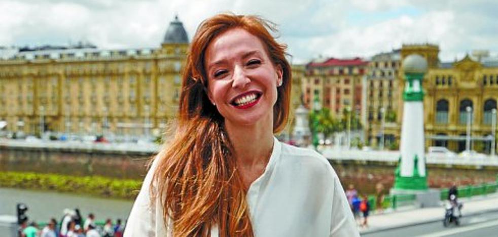 Clara Mouriz, invitada donostiarra en la boda de Fígaro