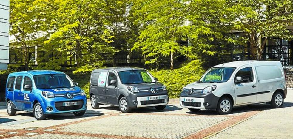 Renault ya tiene a la venta su nuevo Kangoo Z.E. eléctrico