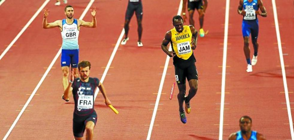 Despedida con dolor para Bolt