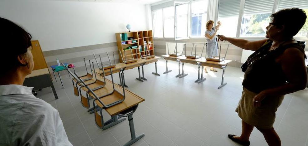 Un centenar de colegios públicos de Gipuzkoa renueva sus instalaciones