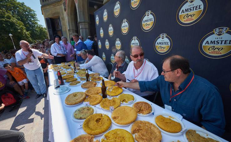 Éxito del concurso de tortillas de patata organizado por Teledonosti