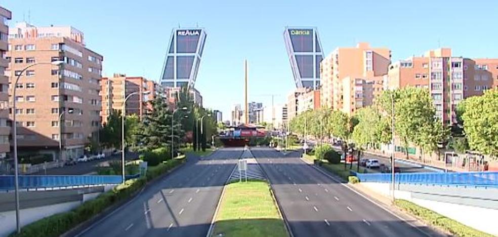 El Madrid deshabitado de agosto