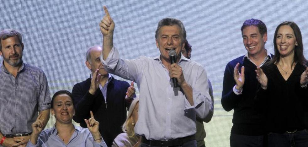 Macri supera la prueba de primarias legislativas en Argentina