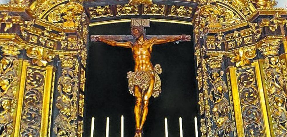 El Cristo de la Agonía se exhibirá en San Sebastián tras su restauración