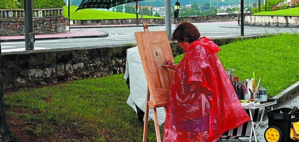 El domingo se celebrará el concurso de pintura al aire libre de Emeki