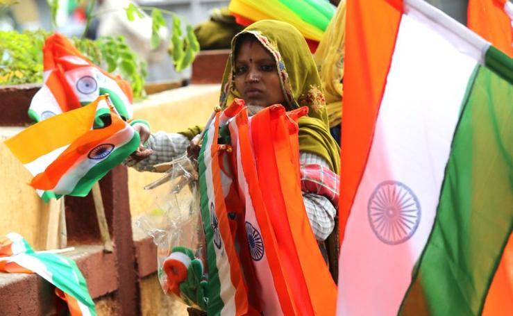 India celebra su Independencia