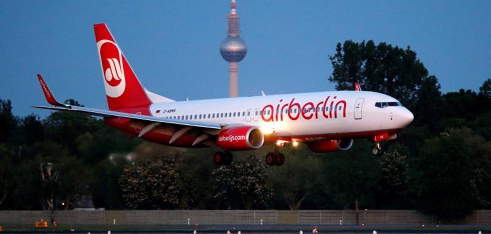 La aerolínea alemana Air Berlin se declara insolvente