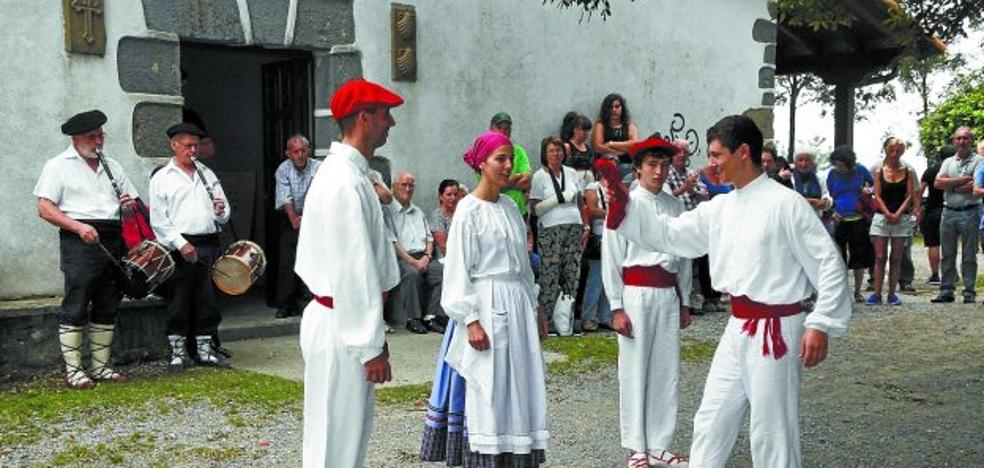 La ermita de Santiagomendi acoge hoy los actos por San Roke