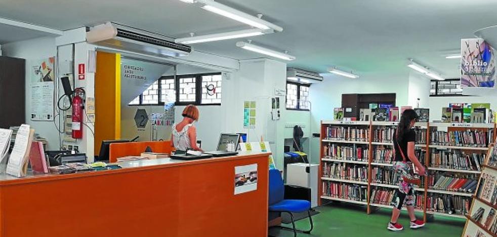 La biblioteca, abierta por vacaciones